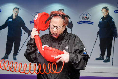 Comedienne Jo Brand revealed as a new voice of BT Speaking Clock in support of Sport Relief