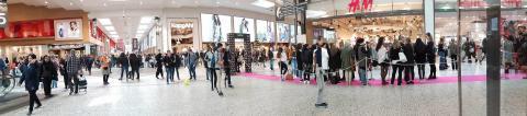 NYX make-up premiär på Åhléns City