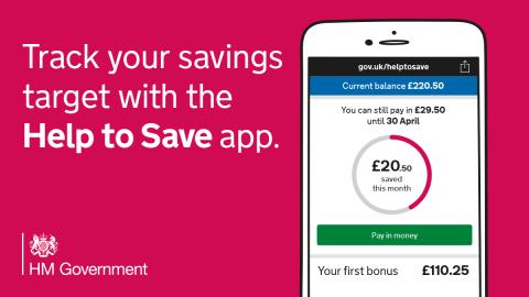 Start a new saving habit in 2019 and get a 50% boost - New app tool to help savers set goals and personal reminders