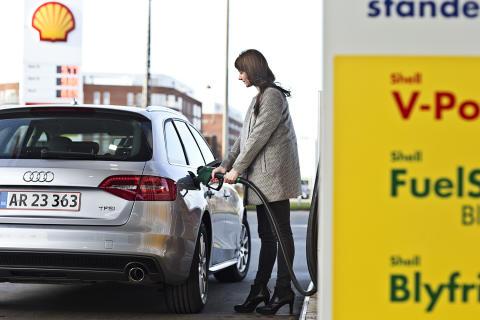 Shell sænker prisen