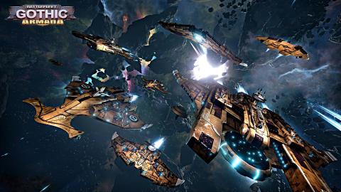 Battlefleet Gothic: Armada - Tau DLC Screenshots
