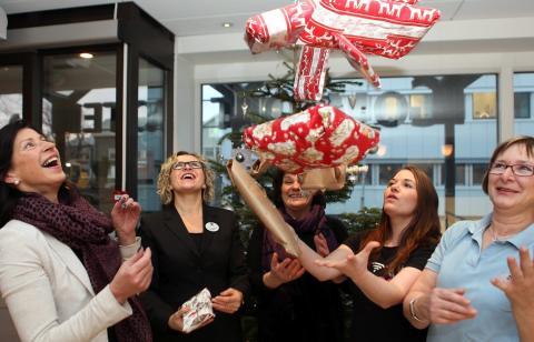 Samlet inn over 52 000 gaver til vanskeligstilte barn