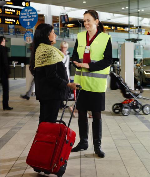 Smidigare incheckning av bagage på Arlanda