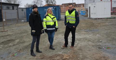 Värme fångade gifterna på förorenad Kristianstadstomt