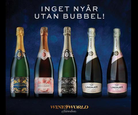 Inget nyår utan bubbel!