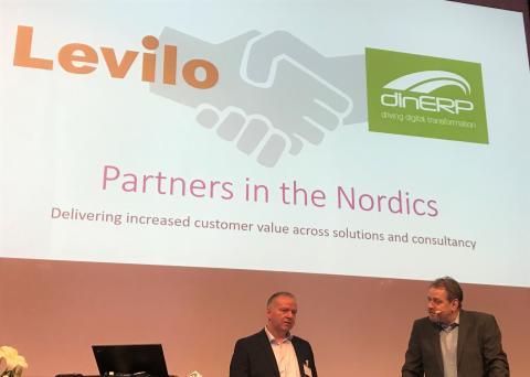 Levilo och DinERP blir partners för att öka värdet till IFS-kunder över hela Europa