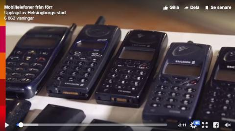 Kommer du ihåg din första mobil?