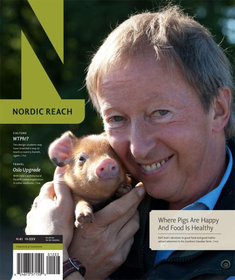 Ängavallens grundare i Nordic Reach Magazine