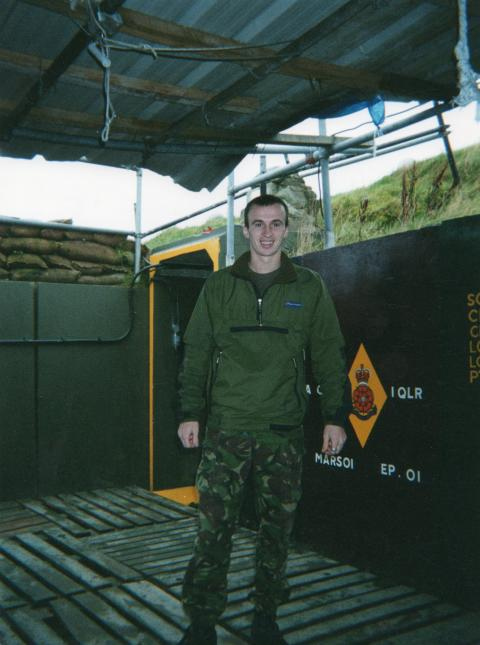 Zero Alpha Foundation Chairman - Back In His Army Days!