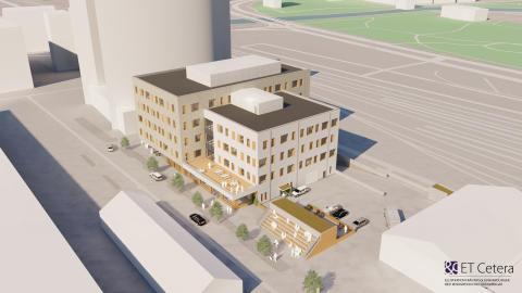 Nu byggs Socialtjänstens hus i Västerås