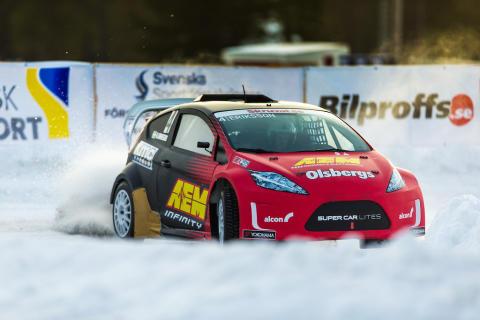 Vintersuccén RallyX On Ice flyttar in i Viasat Motor och Viaplay