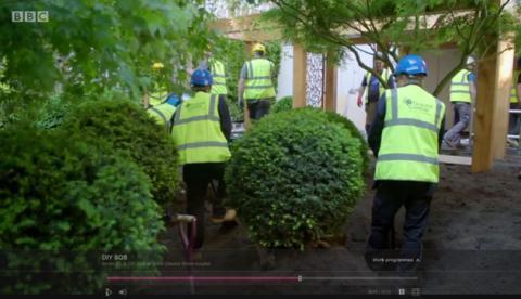 Ground Control support BBC DIY SOS Big Build at Great Ormond Street