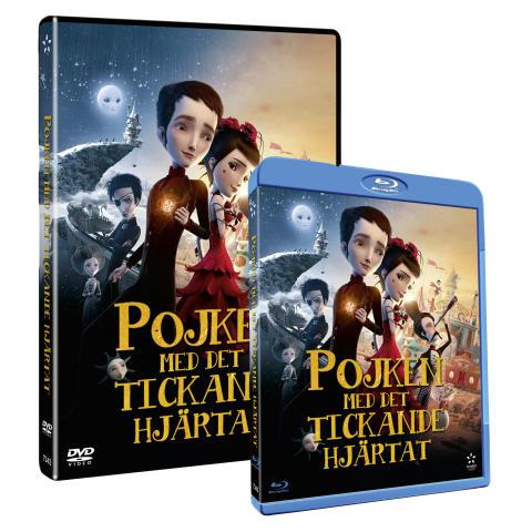 POJKEN MED DET TICKANDE HJÄRTAT - på DVD, Blu-ray och VoD den 1:e oktober