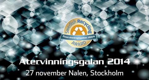 Swedish Recycling Award – viktigt initiativ för proaktivt miljöarbete