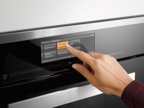 Miele M Touch-display