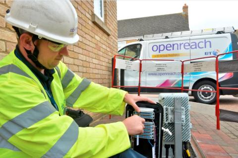 Swindon leads the way as Openreach announces more ultrafast broadband pilot areas