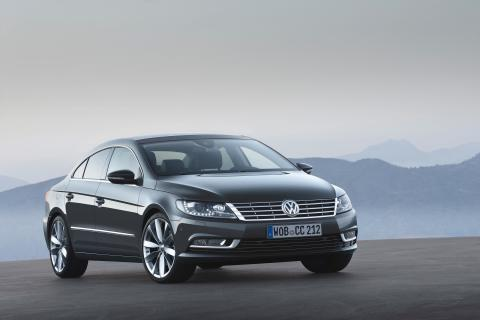 Nya Volkswagen CC tar steget in i lyxklassen