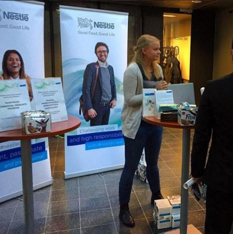 Elämää Nestléllä: Työura käyntiin jo opiskeluaikana