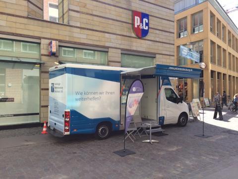 Beratungsmobil der Unabhängigen Patientenberatung kommt am 7. November nach Stralsund.