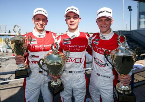 Første podieplads til Nicklas Nielsen i Audi Sport TT Cup