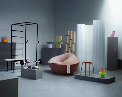 New Way Home – examensstudenter och alumni på Milan Design Week