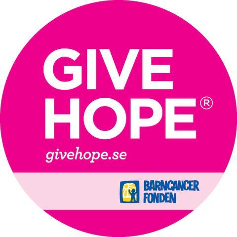 Give Hope: vårkampanj från Barncancerfonden