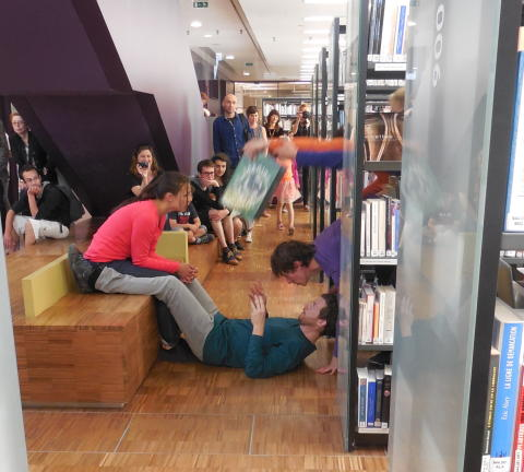 Library stories - 4 februari. Foto: React