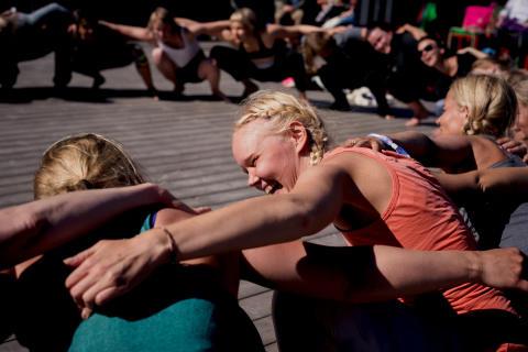 Donationsbaserat yogaevent 8 mars