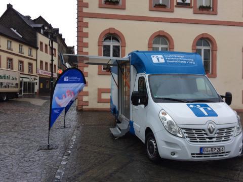 Beratungsmobil der Unabhängigen Patientenberatung kommt am 17. Juli nach St. Wendel.