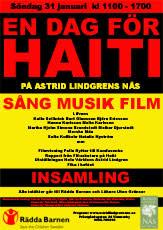 Lifvens medverkar för Haiti på Astrid Lindgrens Näs