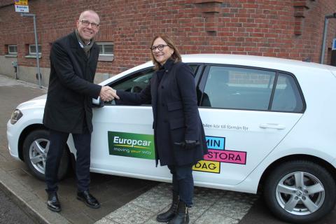 Var med och kör för barns önskedrömmar - Europcar och Min Stora Dag i fortsatt samarbete.