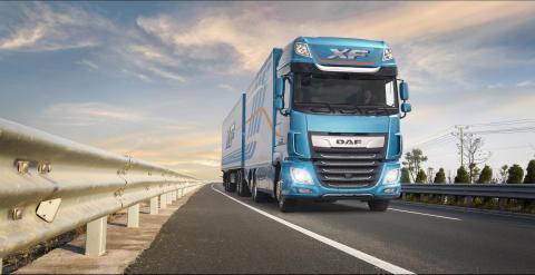 DAF new XF series awarded Top Truck Slovakia 2018