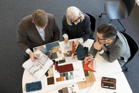 Inredningsarkitekterna med Hansi Danroth från Mengus