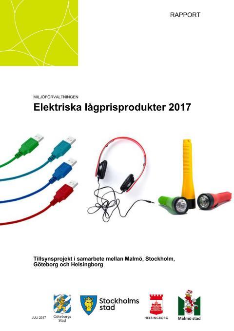 Elektriska lågprisprodukter 2017