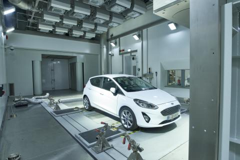 Ford Environmental Test Centre 2018 værfabrikk Køln
