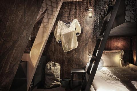 """Sailor's bunk"" room at Stora Hotellet Umeå by Stylt"