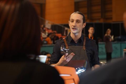 Svenska kaffemästaren öppnar kaffeskolan i Göteborg