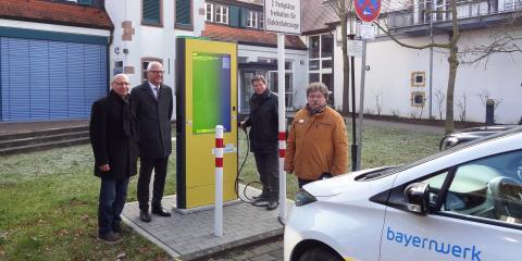 Neue Stromtankstelle in Großostheim