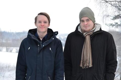 Daniel Cassel och Michael Cassel, duon bakom Geobard.