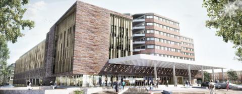 Byggplanerna för S:t Görans Sjukhus får grönt ljus