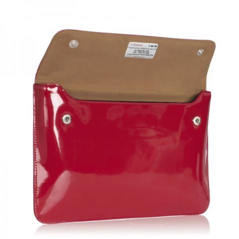 "Knomo 13"" læder kuverttaske til Macbook Air."