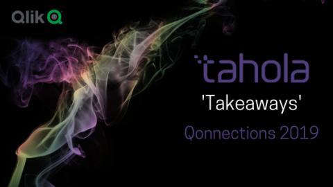 'Tahola Takeaways' -  Qonnections 2019