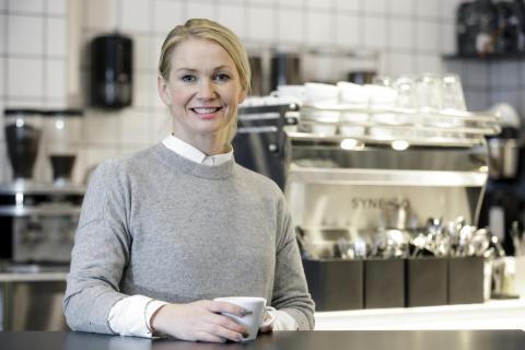 Madelene Breiling, utviklingssjef i Löfbergs.