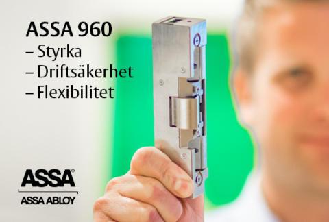 ASSAs genom tiderna starktaste elslutbleck är här – ASSA Elslutbleck 960