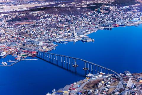 Troms Kraft Nett har hovedkontor i Tromsø