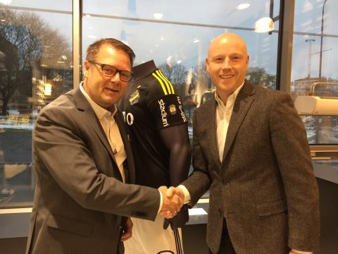 Stadium och AIK Fotboll förlänger samarbetet
