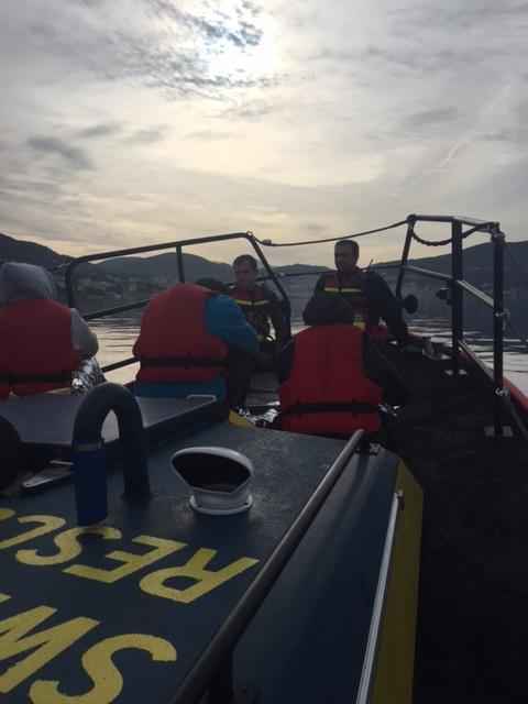 Ny stor räddning på Samos - team 11 och 12 på plats