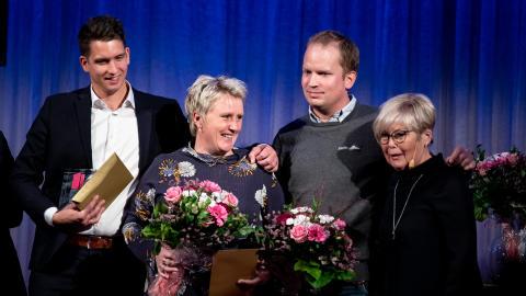 Visa vägen-vinnare prisades i Sundsvall