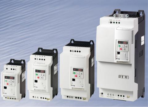Eatons PowerXL DC1-frekvensomformere giver maksimal fleksibilitet op til 22 kW
