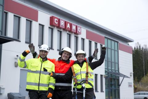 Haemme nyt Cramolle asennuspalveluihin uusia mainioita työntekijöitä!